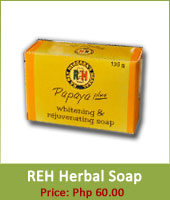 REH Herbal Soap